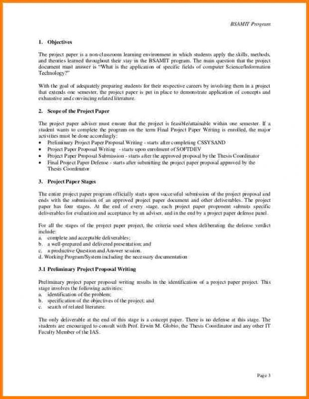 Project Proposal Examples Template Business - official proposal template