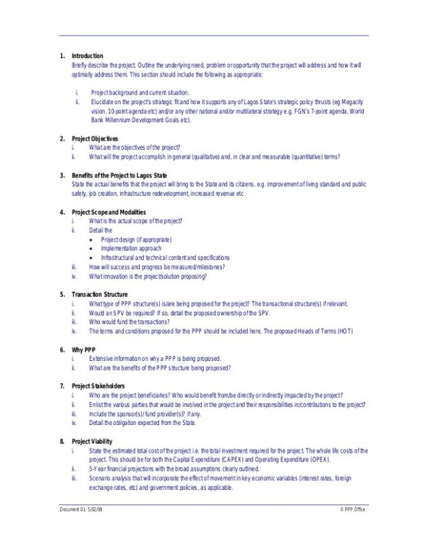 cost proposal format - Divingthexperience - cost proposal template