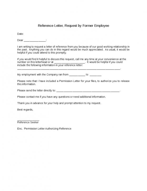 Reference Letter For Employees Template Business