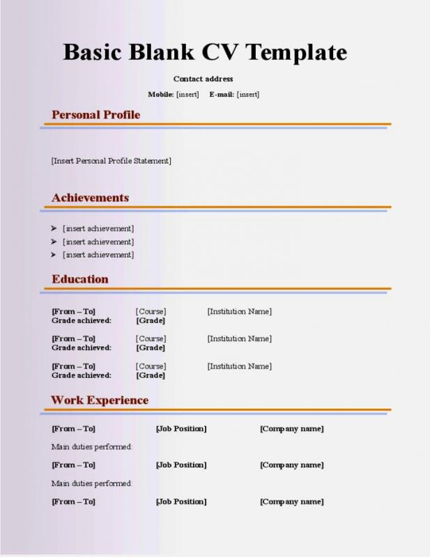 Rubric Template Word Template Business