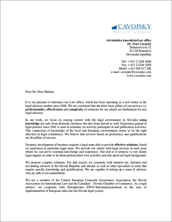 Sales Letters Template Template Business