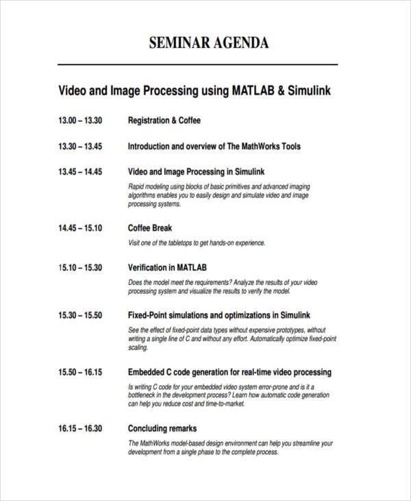 Meeting Agenda Format - Design Templates - Sample Sales Meeting Agenda