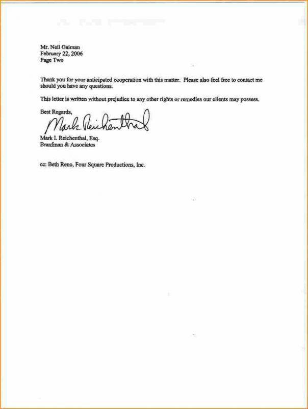 Sample Basic Resignation Letter Template Business