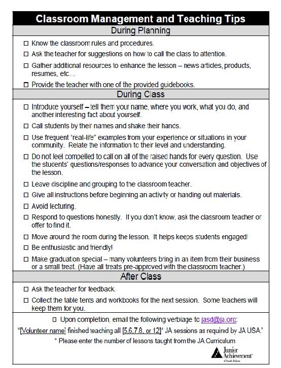 Sample Classroom Management Plan Template Business - clroom management plan template
