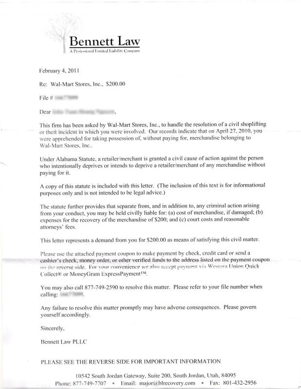 Sample Demand Letter For Payment Template Business