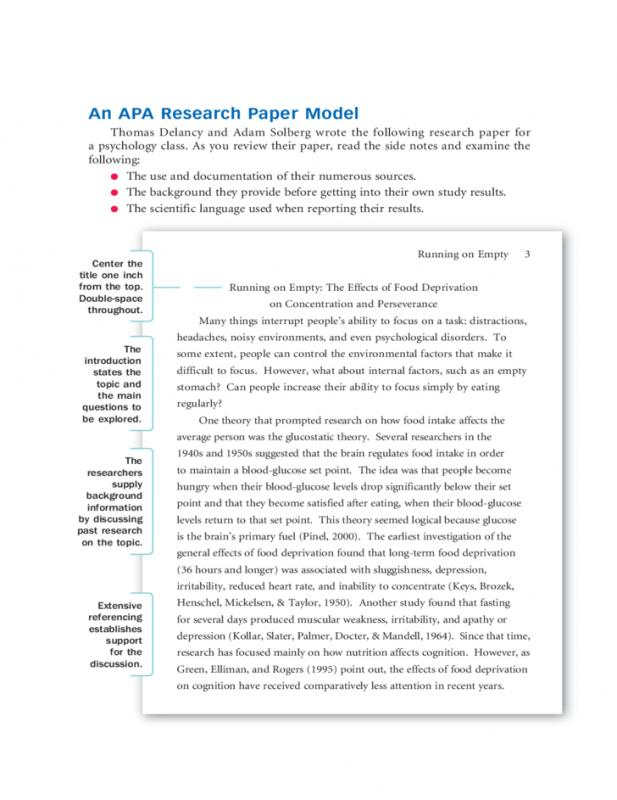 Sample Literature Review For Research Paper Template Business