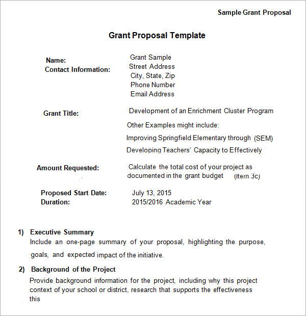 Sample Nonprofit Budget Template Business