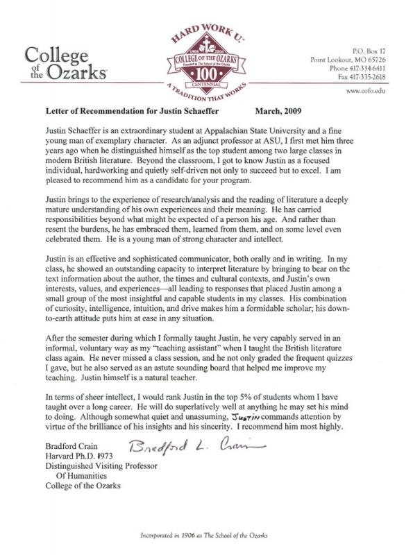 Sample Recommendation Letter For Graduate Student Template Business - letters of recommendation from a teacher