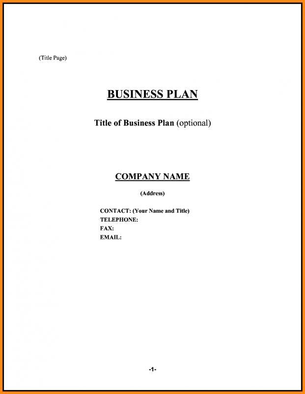 Sample Restaurant Business Plan Template Business - restaurant business plan template