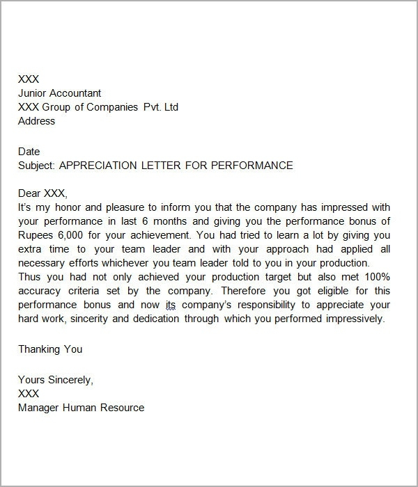 Sample Thank You Letter For Scholarship Template Business - sample letter of appreciation