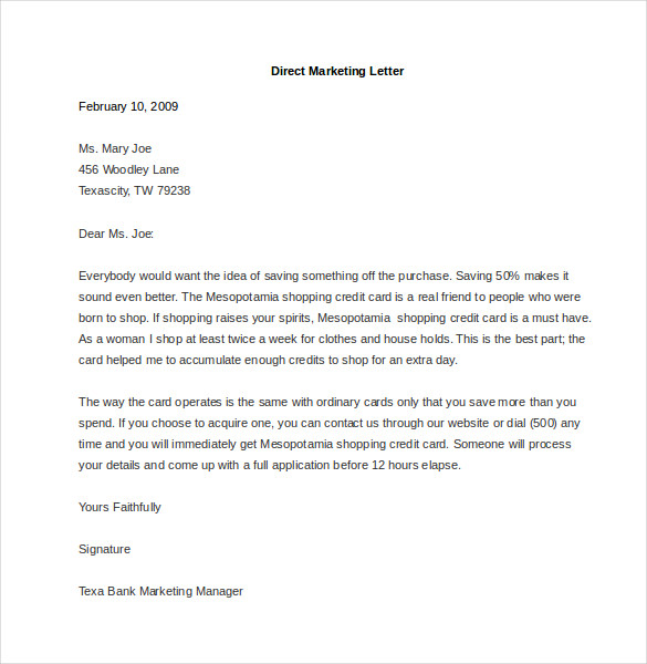 Samples Fundraising Letters Template Business