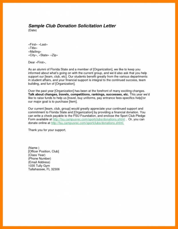 samples fundraising letters - Pinarkubkireklamowe