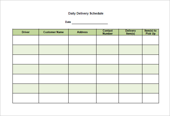 School Scheduling Templates Template Business
