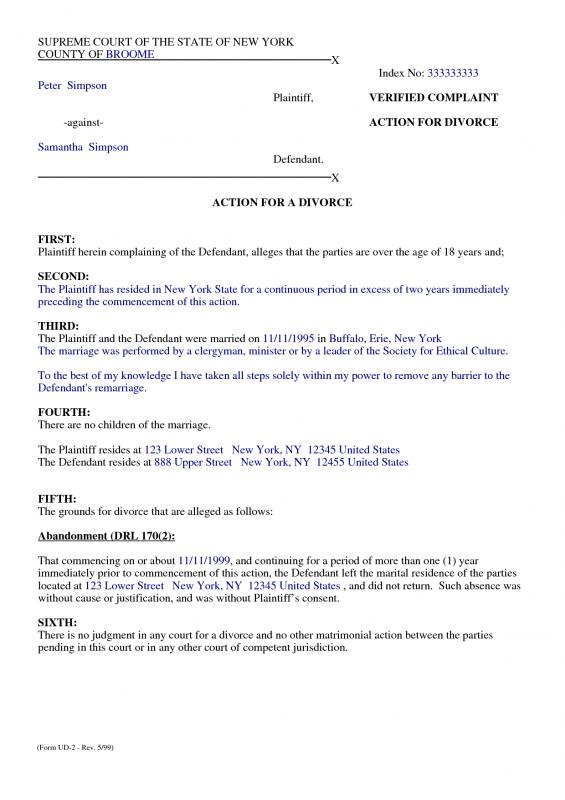 Fine Marital Separation Agreement Template Model - Professional - business separation agreement template