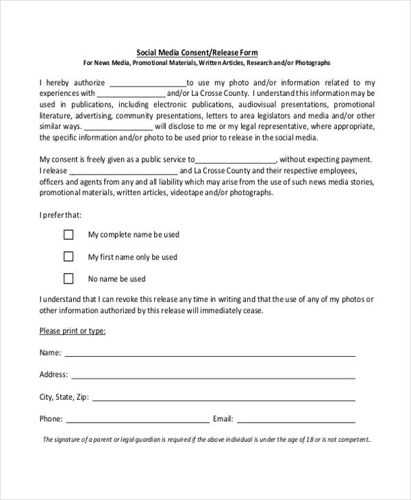 media release form template xv-gimnazija
