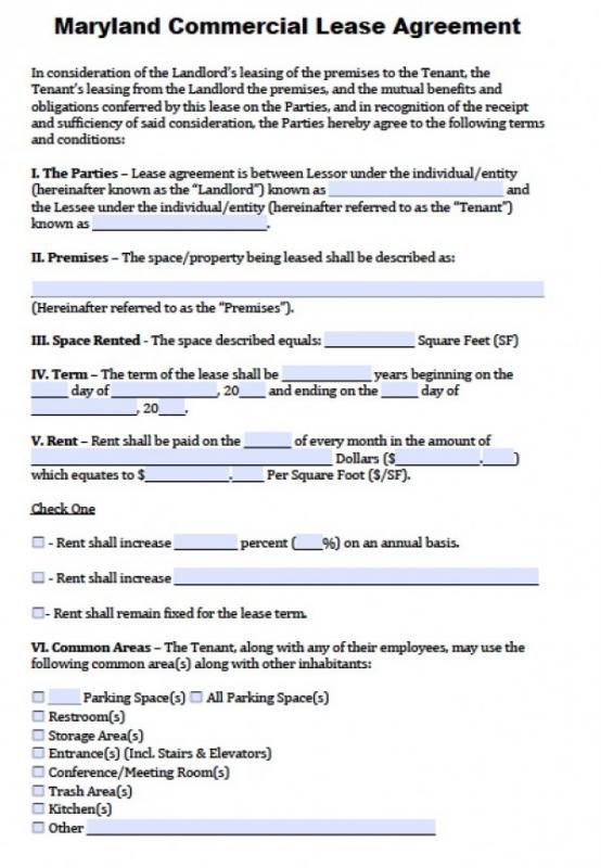 Standard Rental Application Template Business