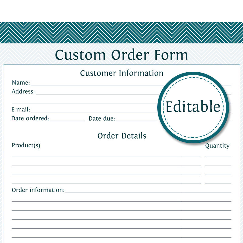 T Shirt Order Form Template Microsoft Word Template Business