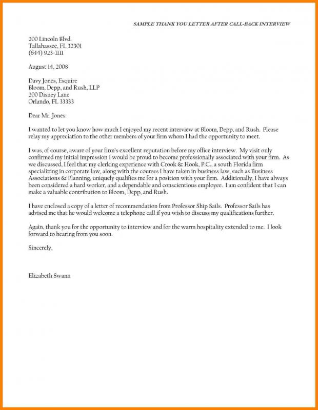 Thank You Letter For Referral Template Business