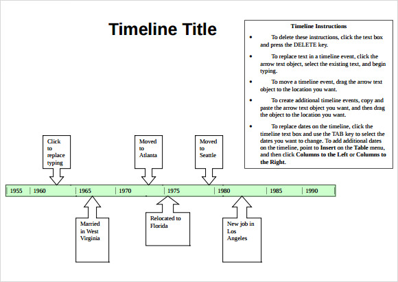 fill in timeline template - Goalgoodwinmetals - timeline word template