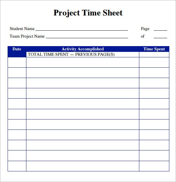 Timesheet Templates Word Template Business