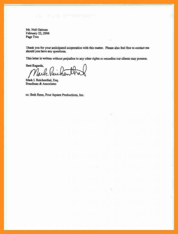 Two Week Notice Letter Template Template Business