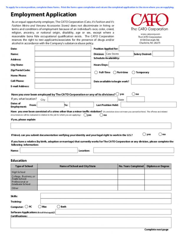 Volunteer Forms Templates Template Business