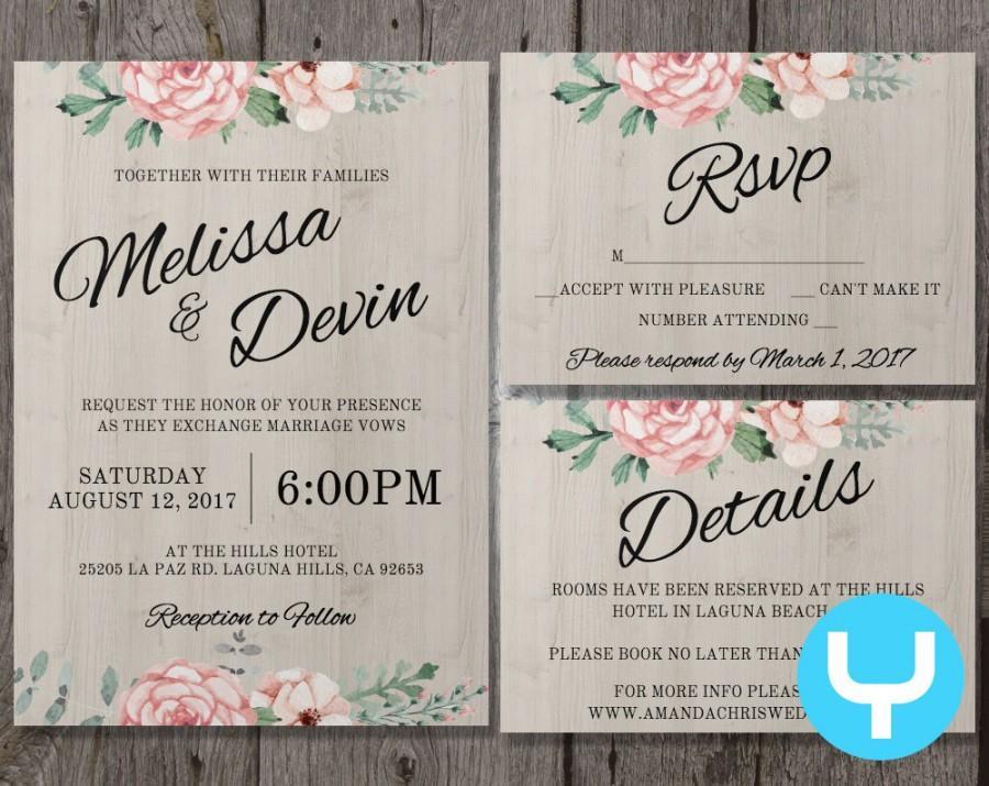 Wedding Announcement Templates Template Business