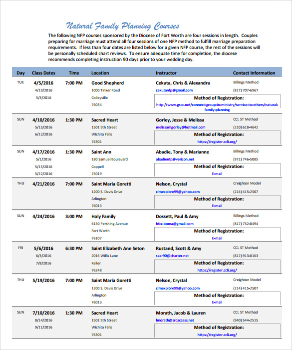 Wedding Day Schedule Templates Template Business