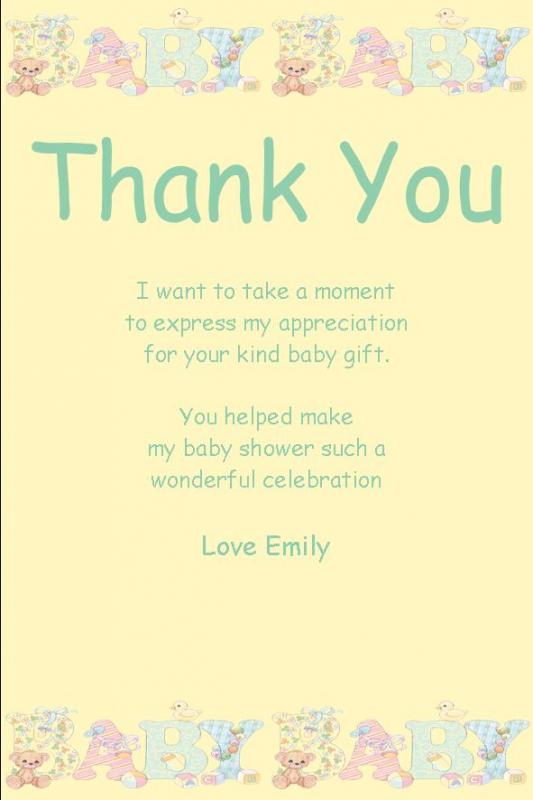 Wedding Thank You Notes Sample Template Business
