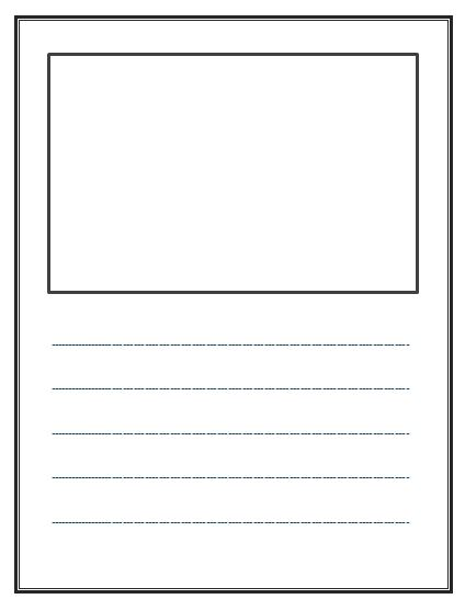 Writing Paper Template - FREE DOWNLOAD - Free Writing Paper Template