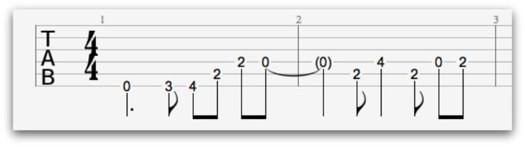 Metallica One Chord Diagram Wiring Schematic Diagram