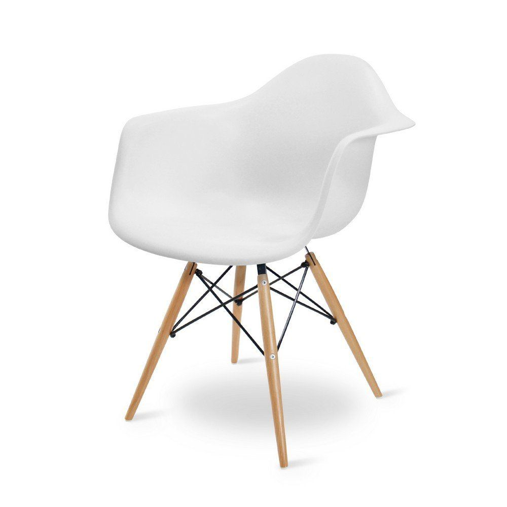 Chair Eames White Charles Eames Style Daw Tub Chair