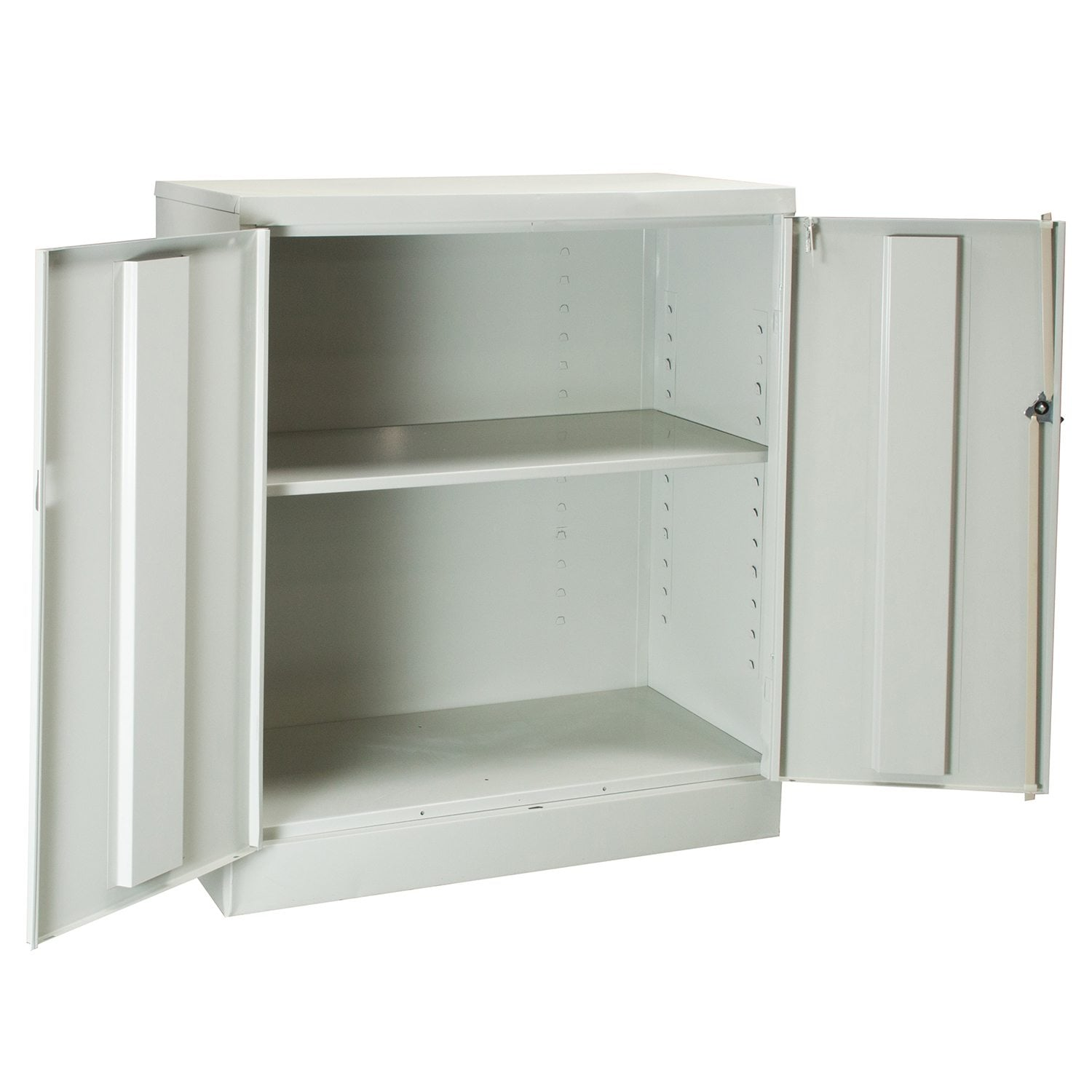 Anderson Hickey Used 2 Shelf 36 Inch Storage Cabinet