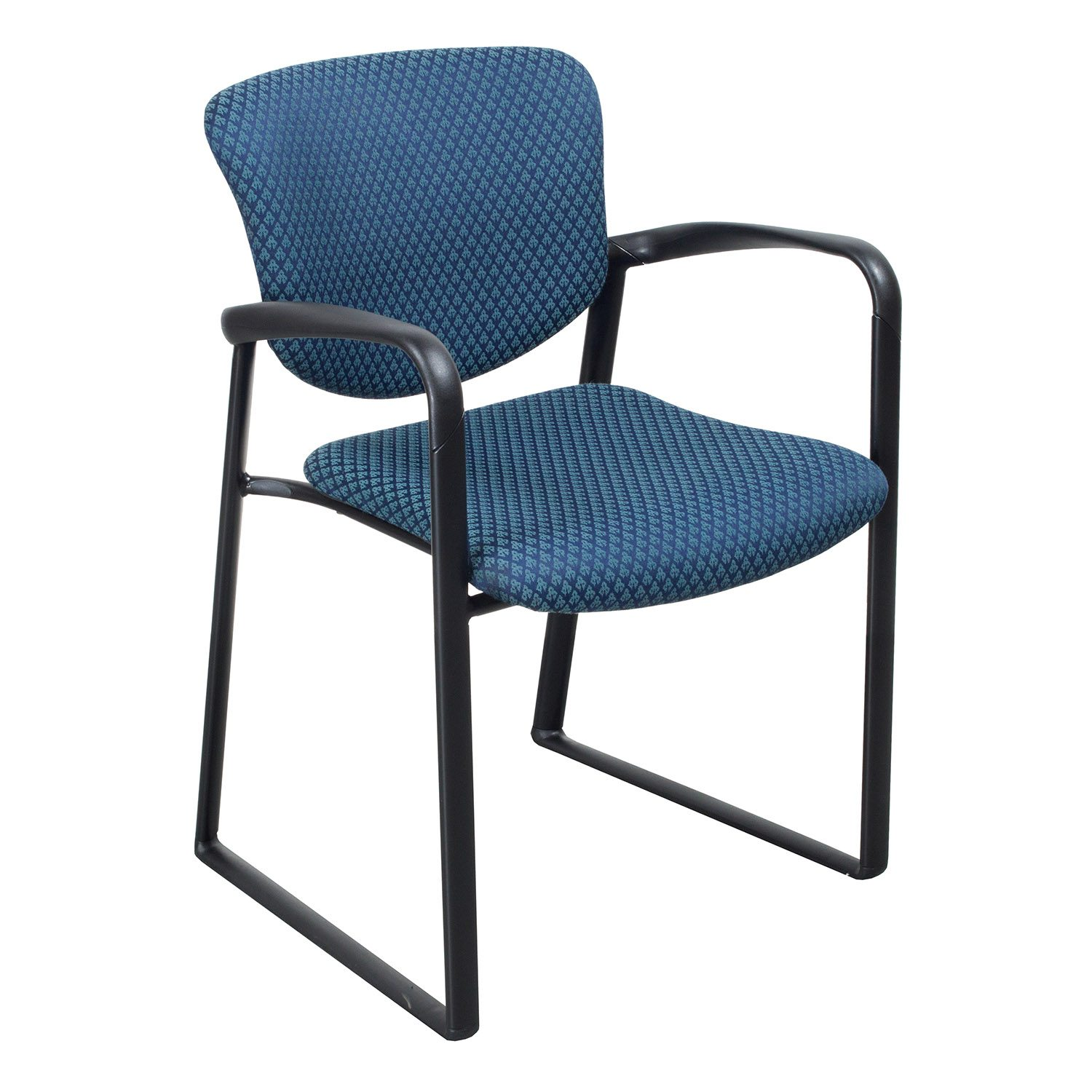 Designer Chairs Used Haworth Improv Used Side Chair Blue Design National