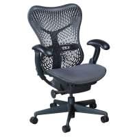 Herman Miller Mirra Used Mesh Seat Task Chair, Graphite ...