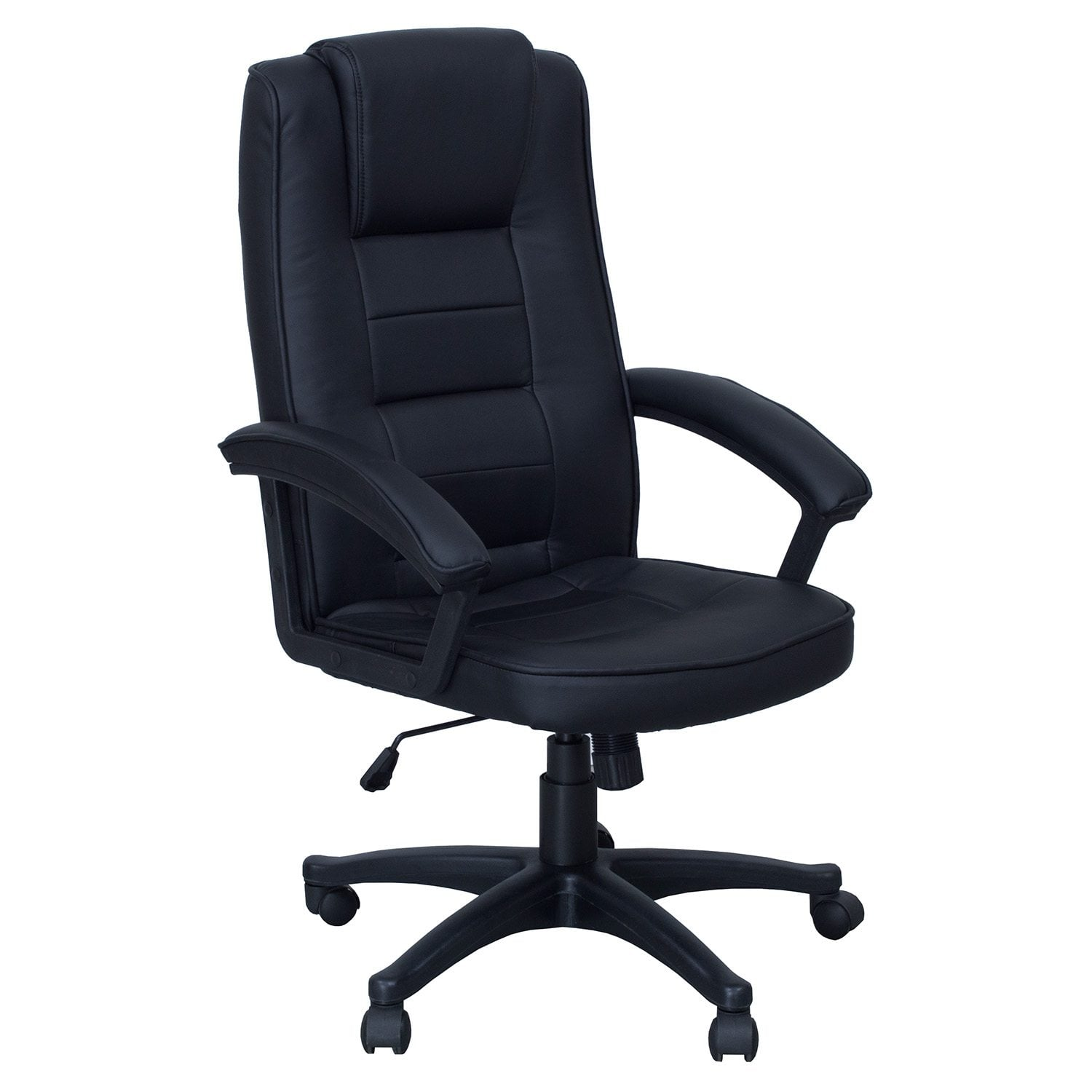 Sessel Schwarz Leder Inside Job New Leather Executive Chair Black National