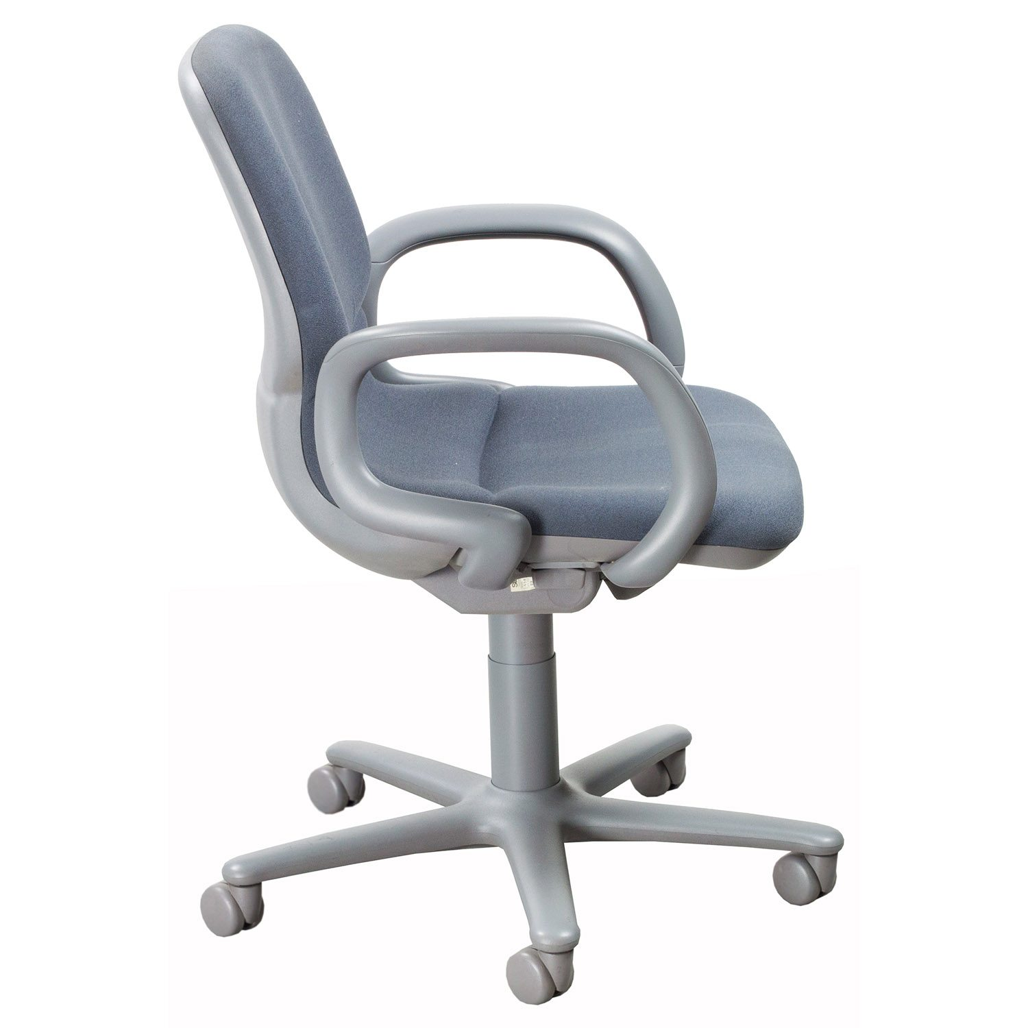 Best Task Chair 2015 Steelcase Sensor Used Mid Back Task Chair Gray National