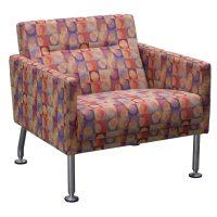 Steelcase Sidewalk Used Lounge Chair, Multi | National ...