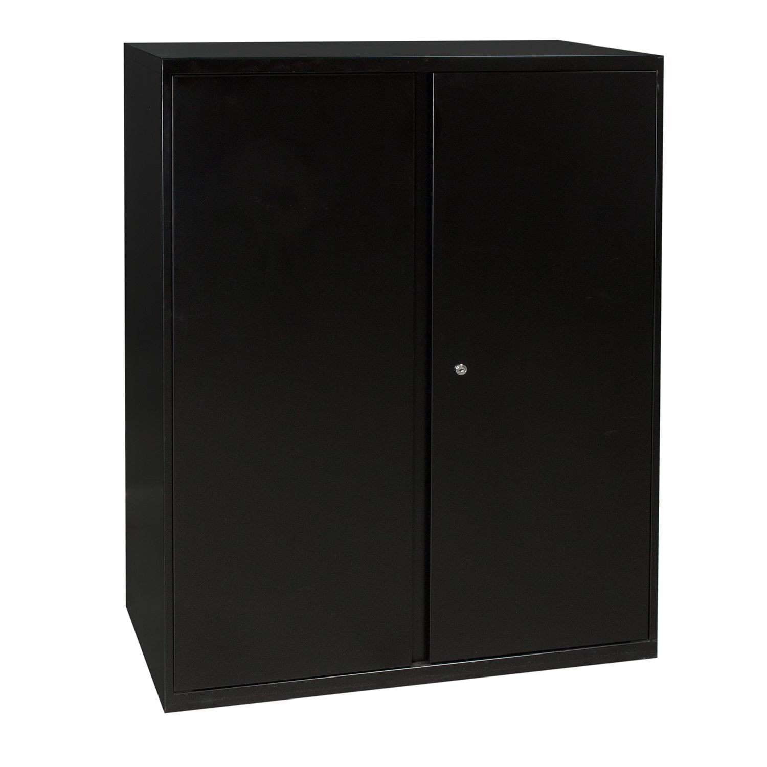 36 Inch Used Storage Cabinet, Black