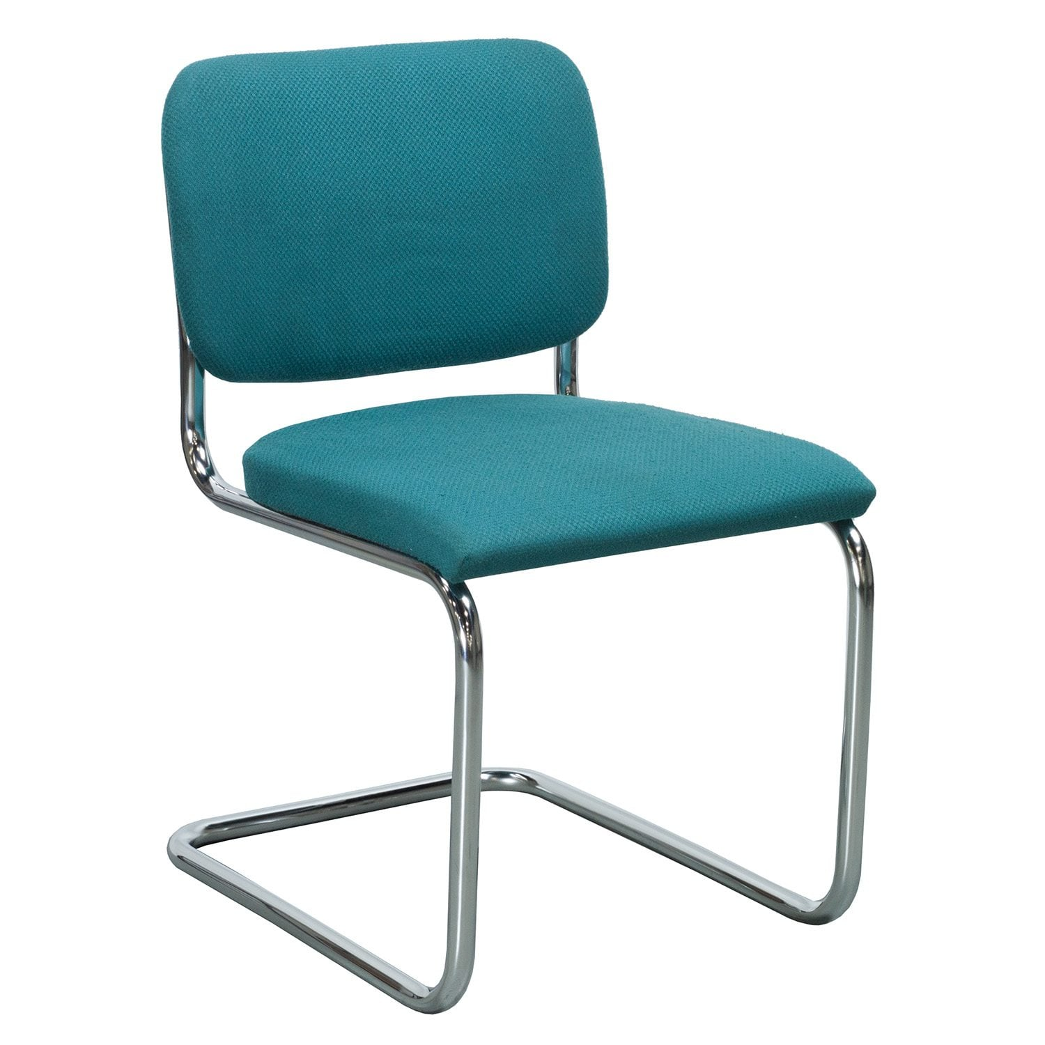 Thonet S32 Thonet S 32 Pv Used Upholstered Side Chair Aqua