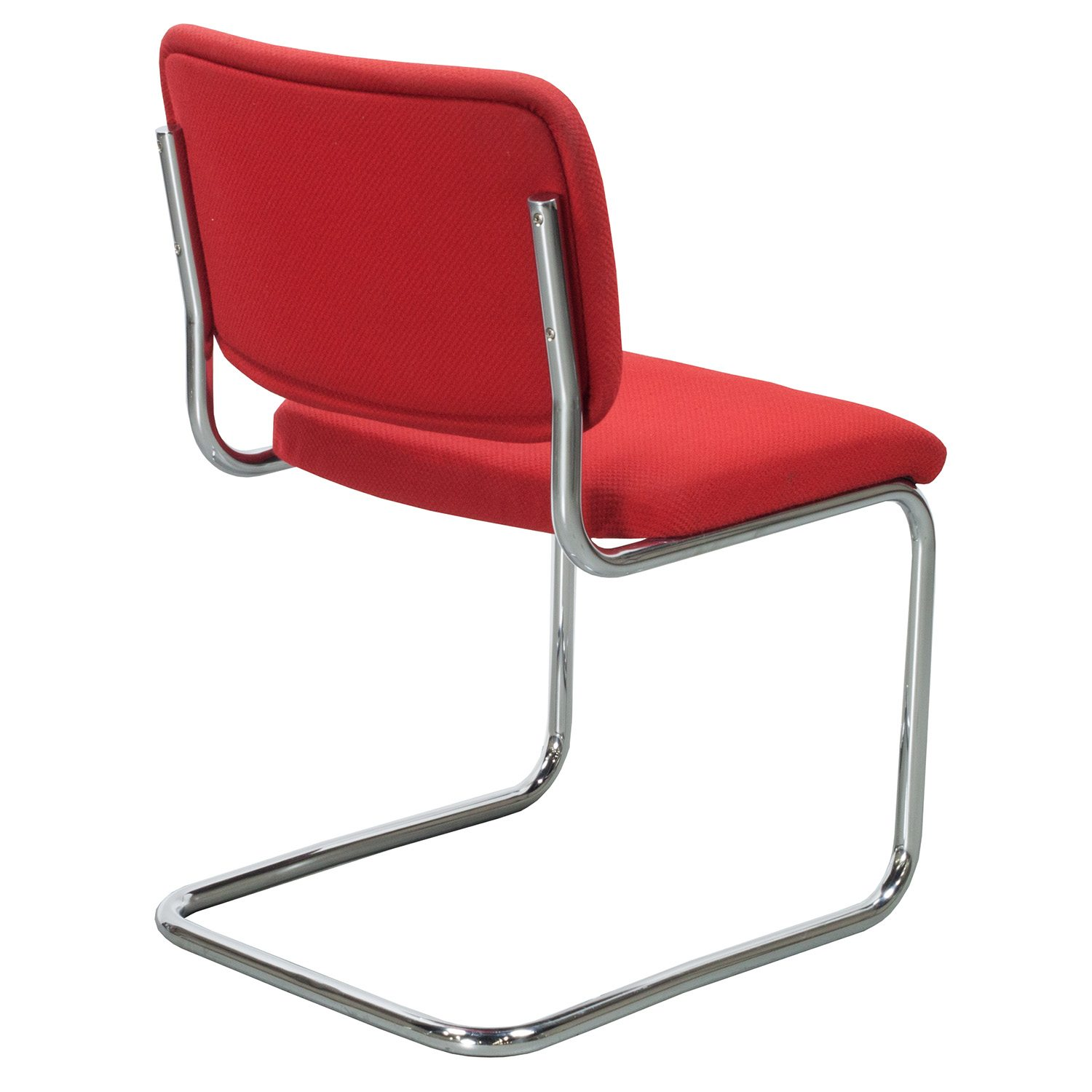 Thonet S32 Thonet S 32 Pv Used Side Chair Red National Office Interiors And Liquidators