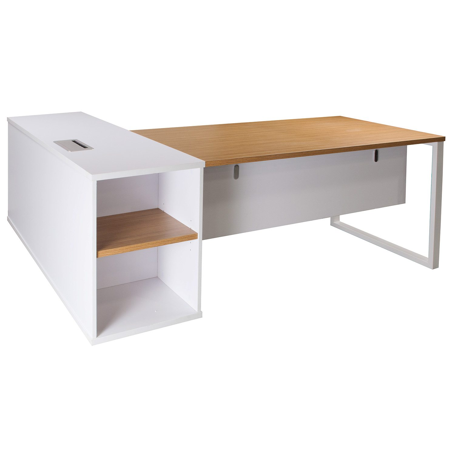 Executive L Shaped Desk Morgan Executive Right Return Melamine L Shape Desk Zebra And White