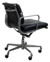 Herman Miller Eames Used Leather Soft Pad Chair, Black ...
