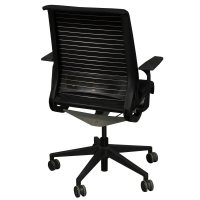 Steelcase Think Used Task Chair, Black | National Office ...