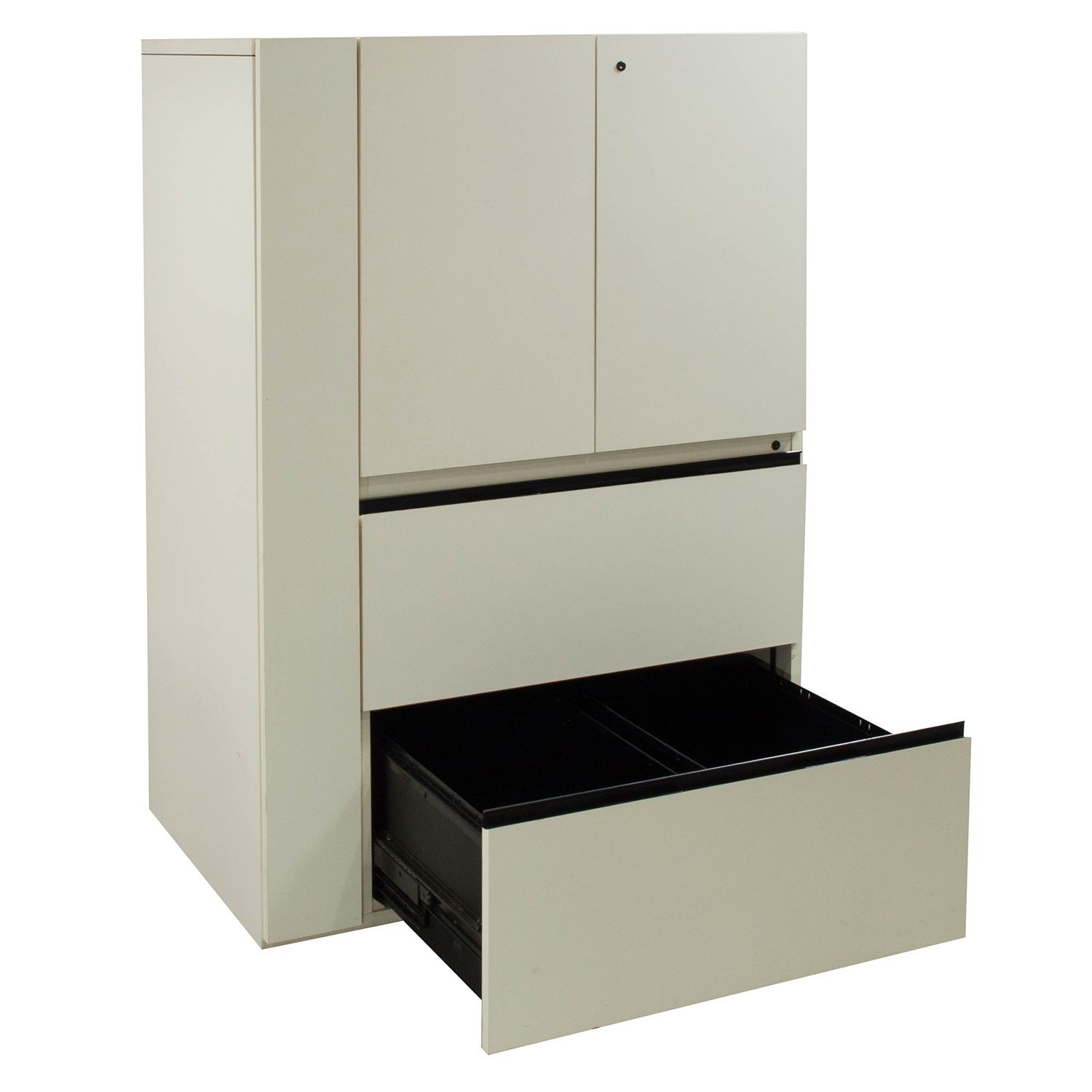 Off White Cabinet Used Laminate Utility Cabinet Off White National Office