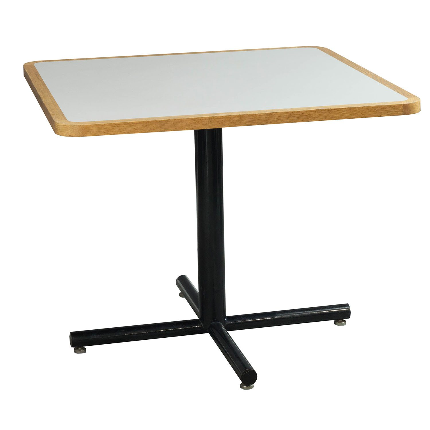 Cafe Tables Used Squared 36 Inch Cafe Table White And Maple National