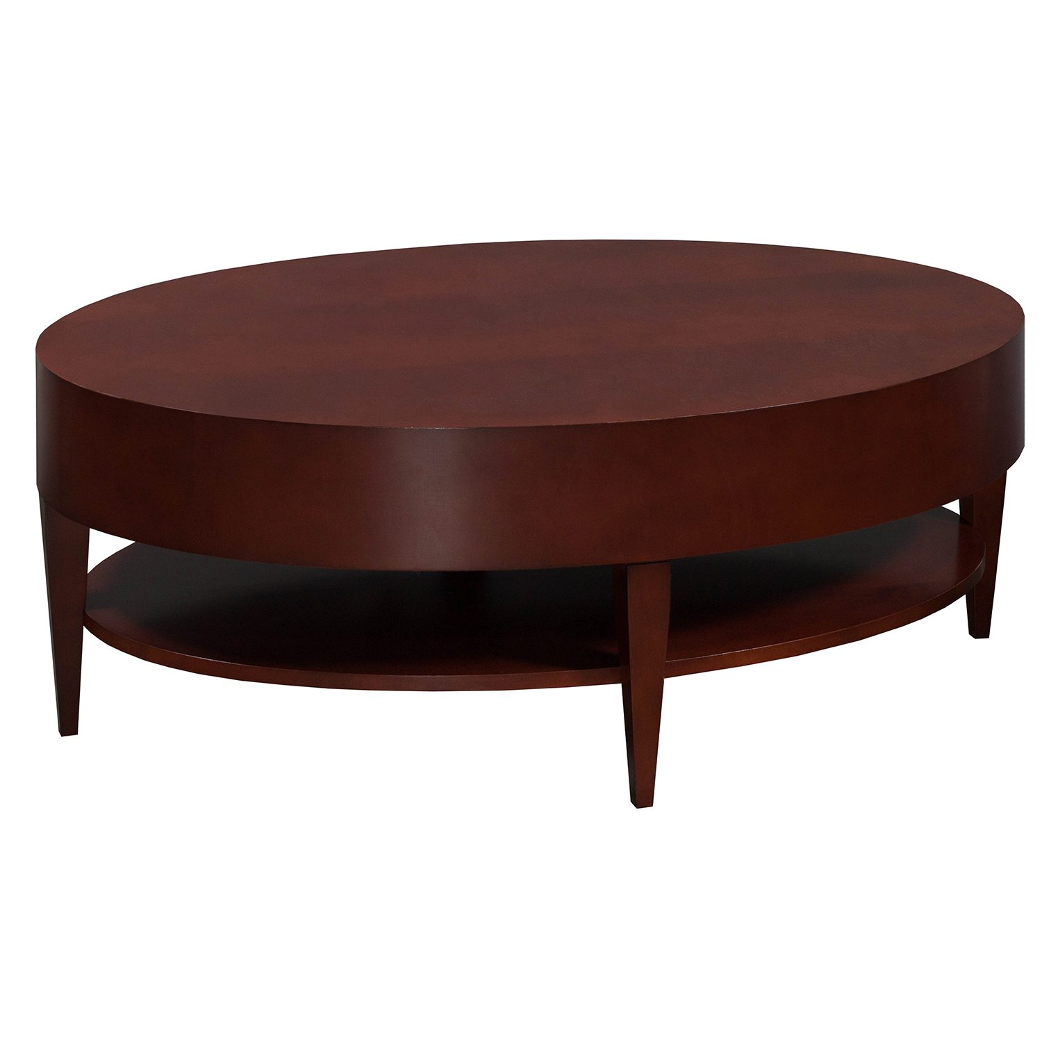 Ovaler Couchtisch Holz Used Veneer Oval Coffee Table Mahogany National Office