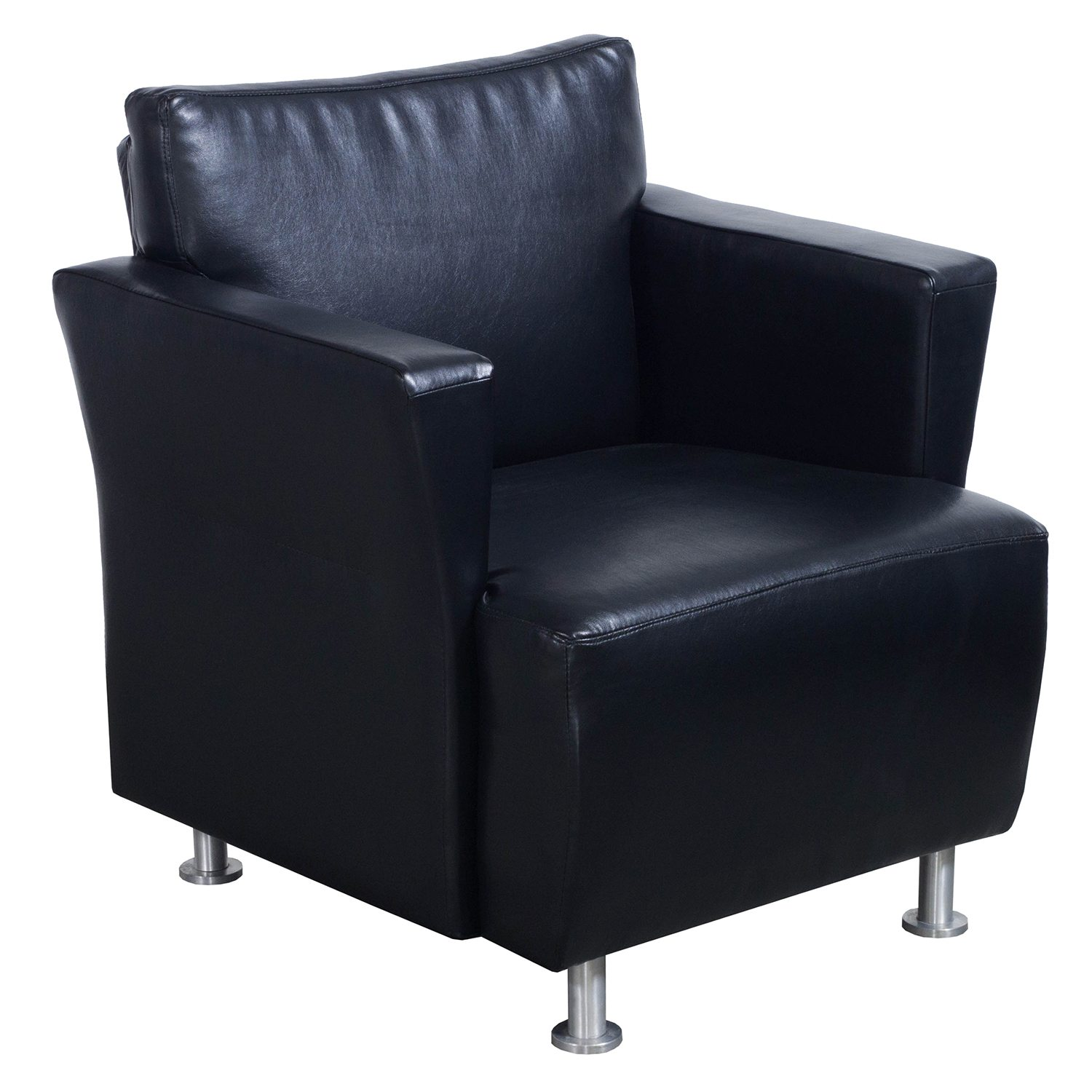 Leather Lounge Ofs Used Leather Lounge Chair Black