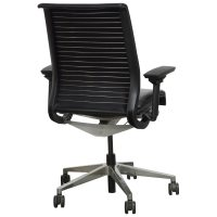 Steelcase Think Used Leather Task Chair, Black | National ...