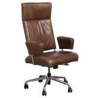 Steelcase L'attitude Used Leather Executive Chair, Brown ...